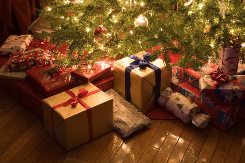 Фото рождественских подарков