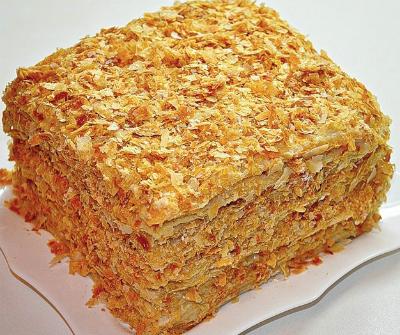 Рецепт торт наполеон простой с фото